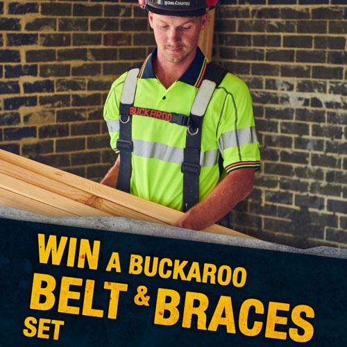 Win a Buckaroo Belt & Braces Set