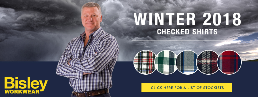 W18 Bisley Check Shirt Stockists