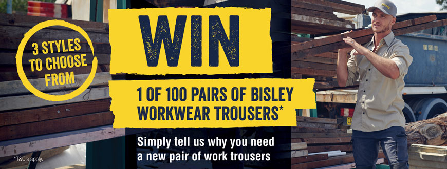 Trouser Giveaway